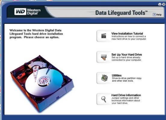 western digital data lifeguard diagnostics скачать